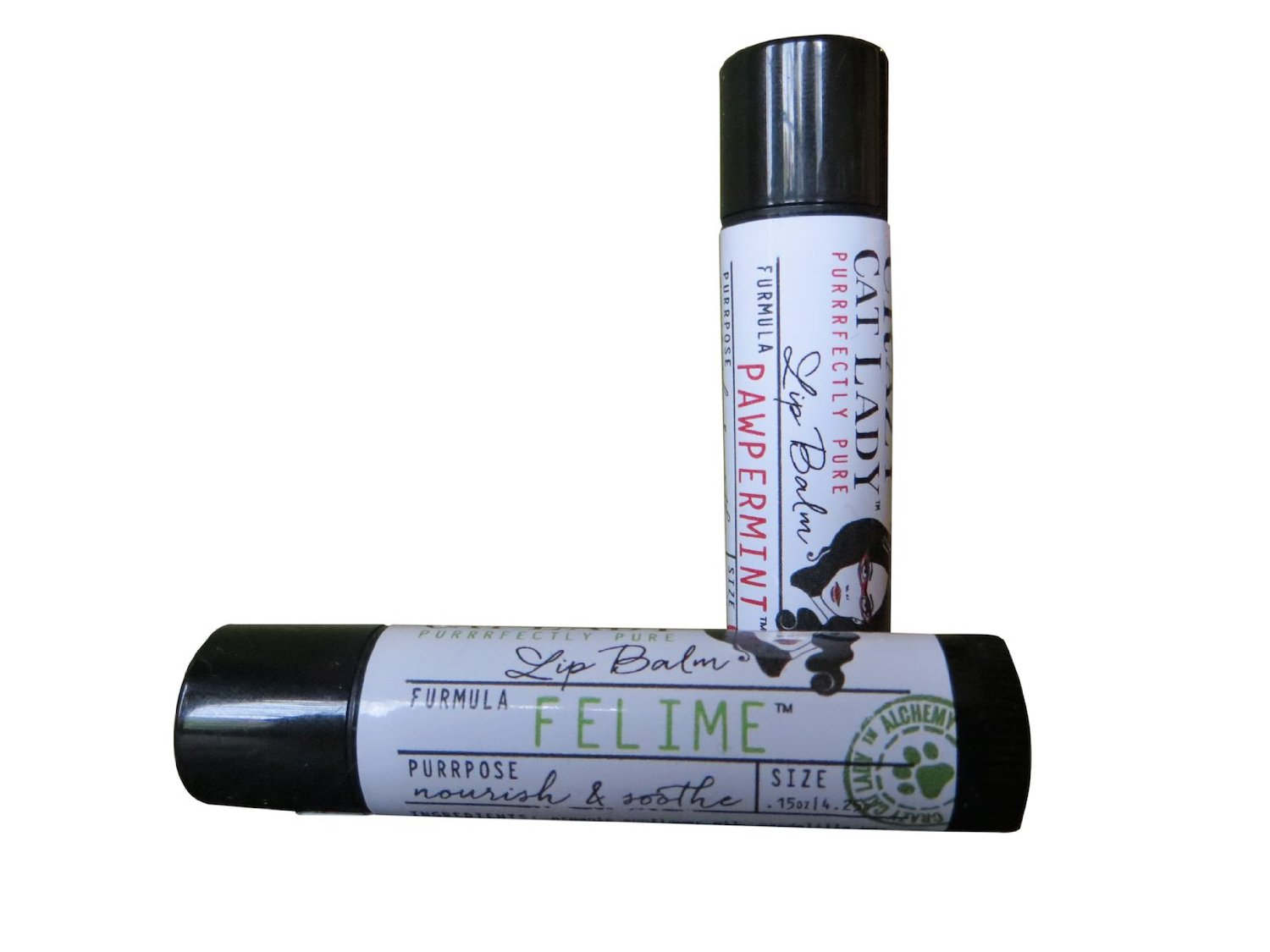 Crazy Cat Lady Vegan Lip Balm Set