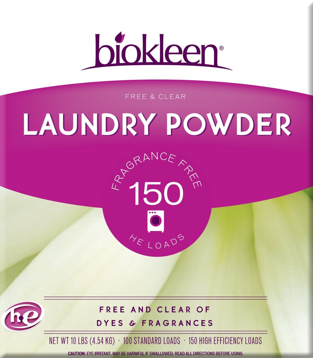 Biokleen Laundry Powder Free and Clear