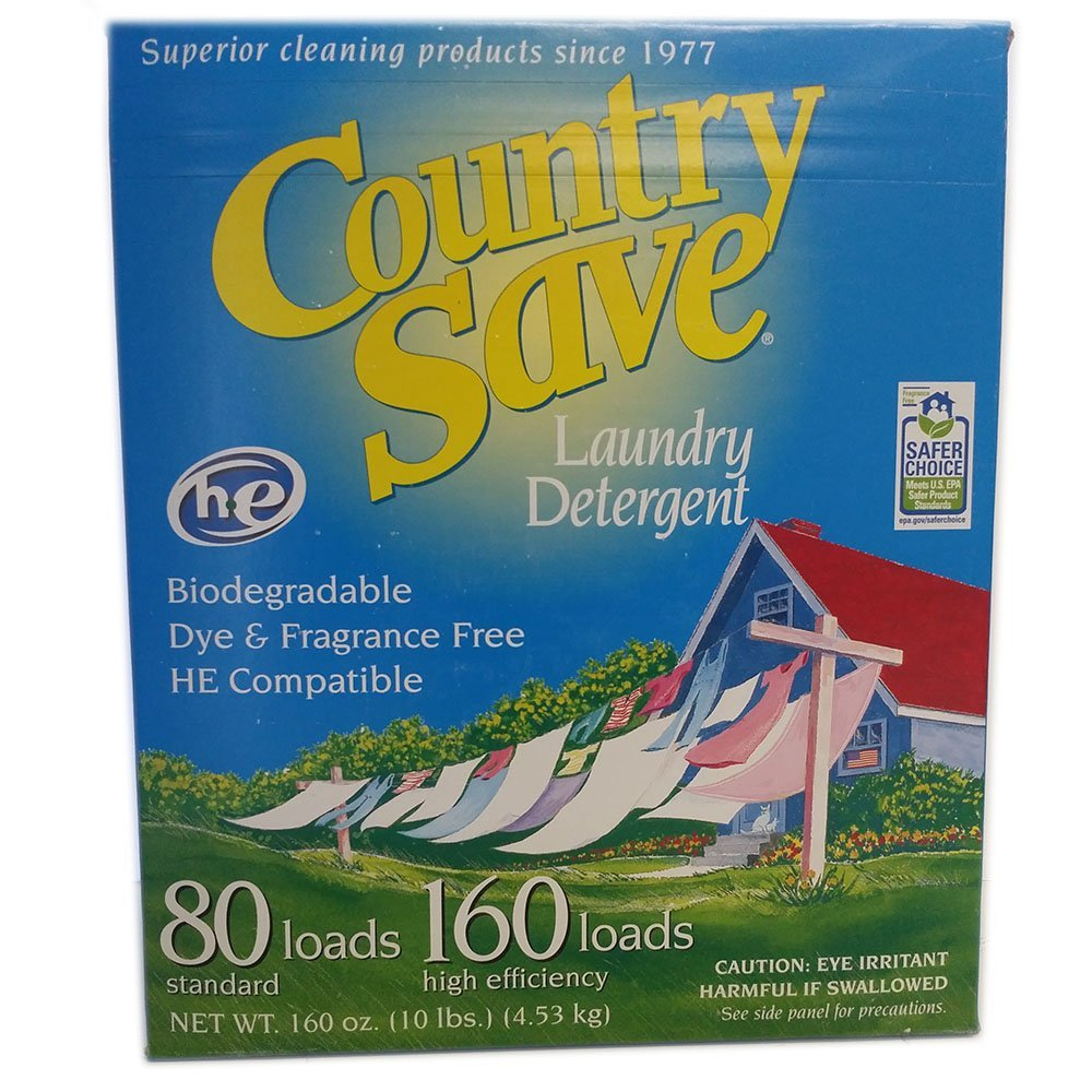Country Save Gentle Powder Soap Laundry Detergent