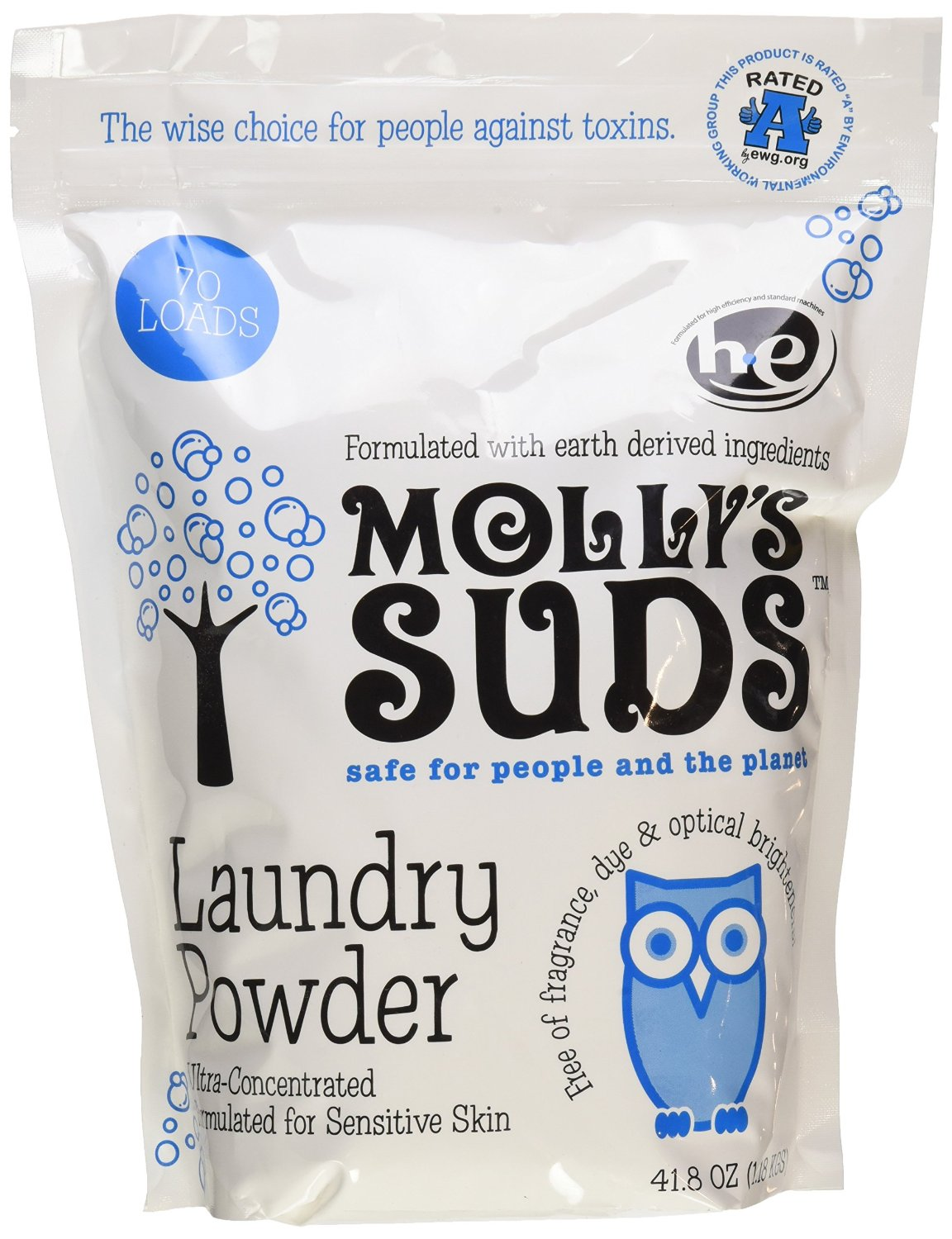 Molly's Suds Ultra-Concentrated Laundry Powder