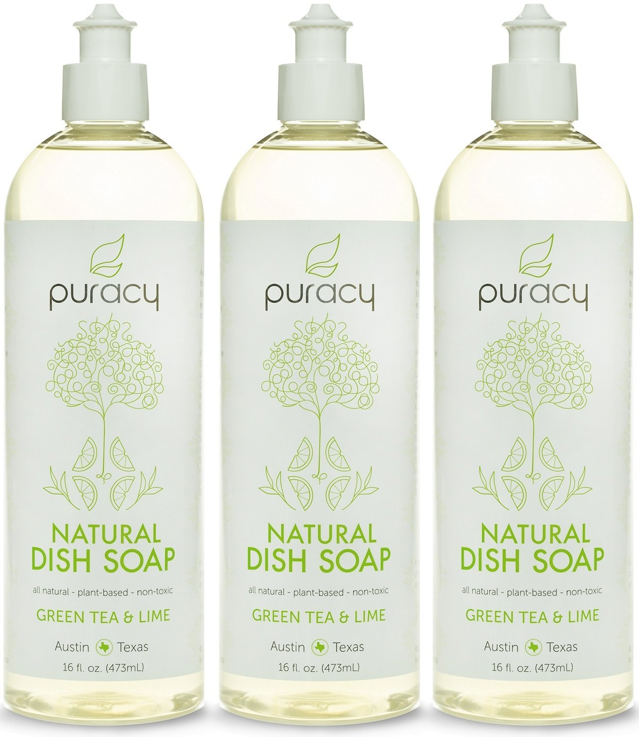 Puracy 100% Natural Liquid Dish Soap