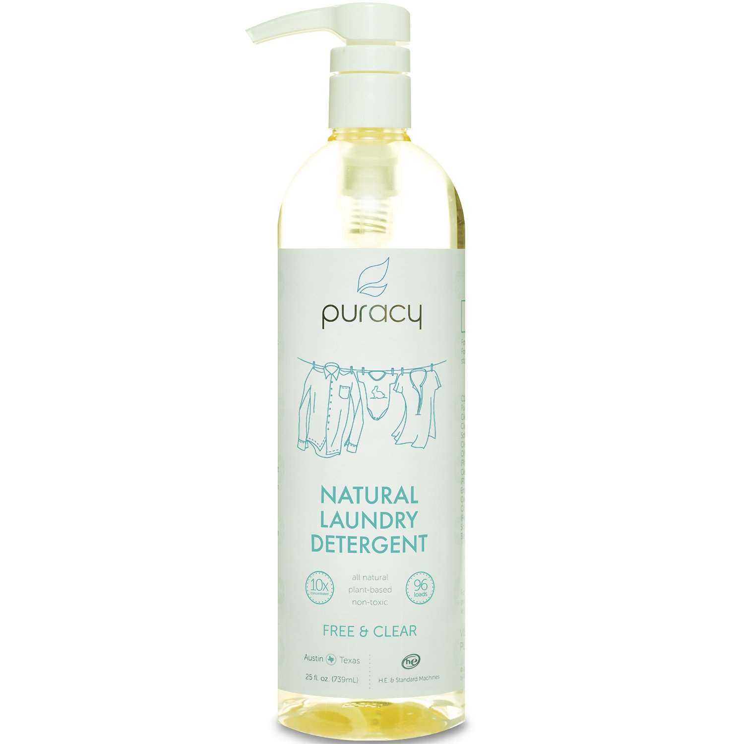 Puracy Natural Liquid Laundry Detergent Sulfate-Free