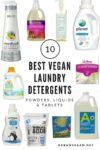 vegan laundry detergent