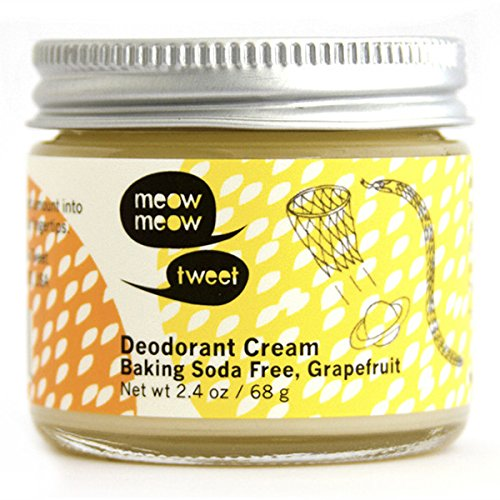 Meow Meow Baking Soda Free Grapefruit Deodorant Cream