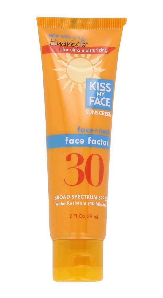 Kiss My Face Face Factor Natural Sunscreen SPF 30