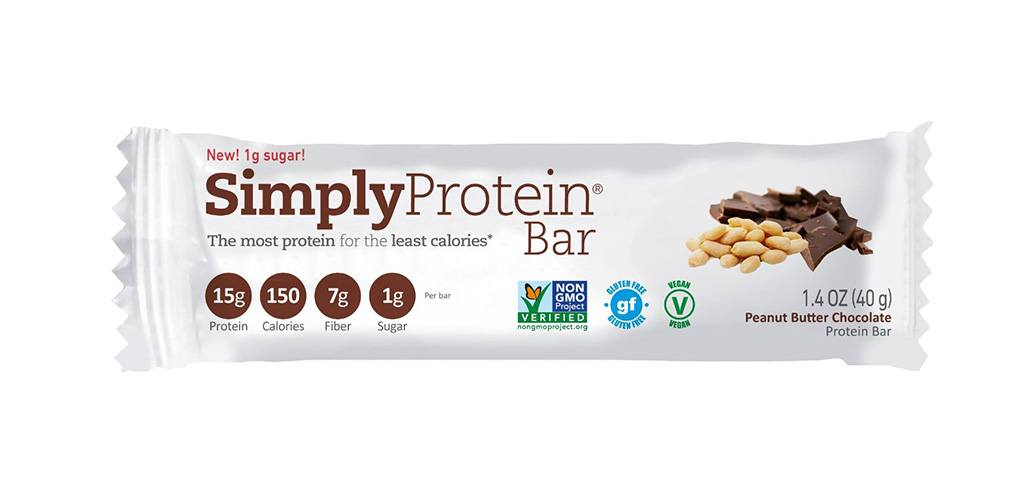 Simply Protein Bar, Peanut Butter Chocolate