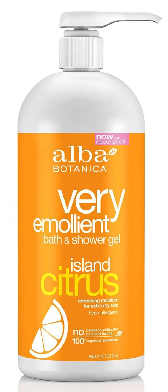 Alba Botanica – Very Emollient, Island Citrus Bath & Shower Gel