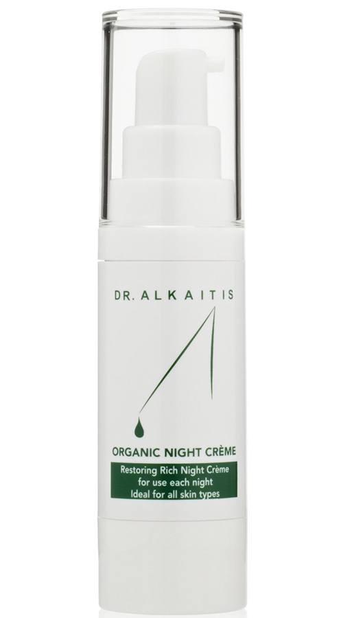 DR. ALKAITIS Organic Night Crème