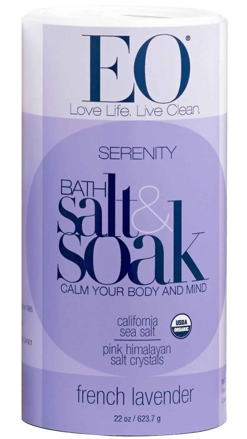 EO Bath Salts, Serenity, French Lavender