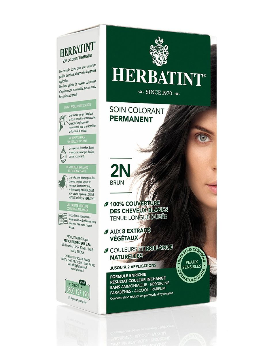 Herbatint Permanent Herbal Hair Color Gel