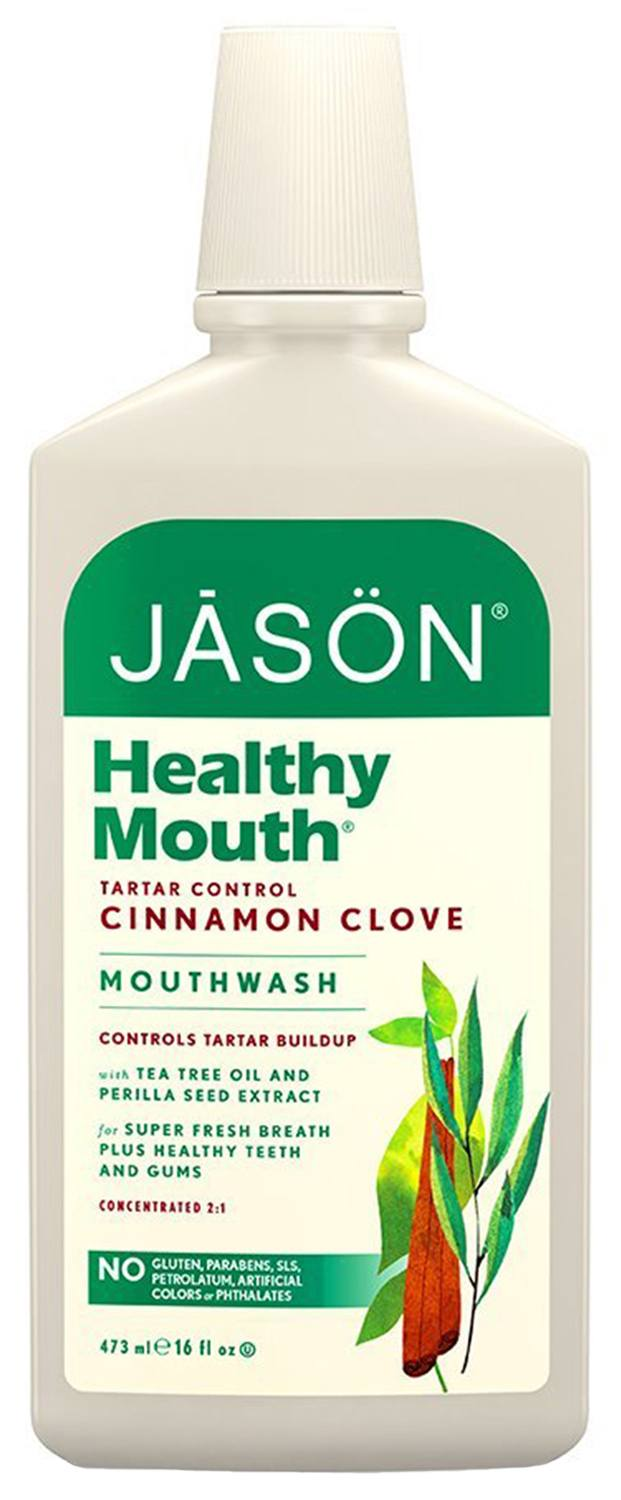 JASON Natural Healthy Mouth Naturally Bacteria-Fighting Mouthwash NEW