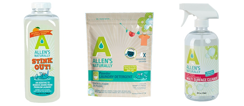 1  Allen s Naturally. Best Cruelty Free   Vegan Household Cleaning Products