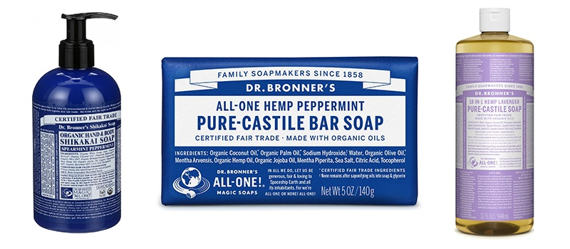 Dr. Bronner's Fair Trade & Organic Castile Liquid Soap - (Eucalyptus, 32 oz)