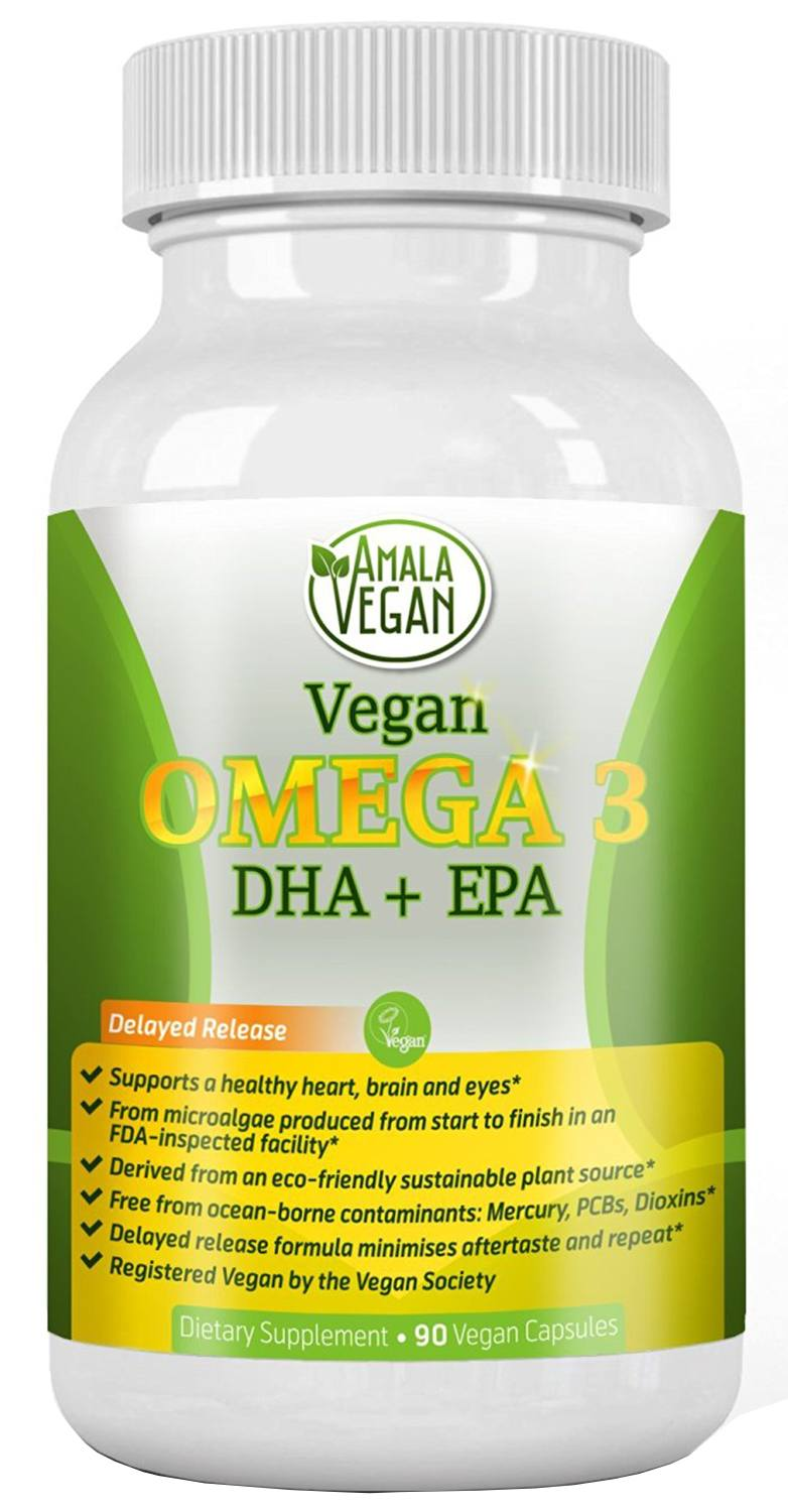 Best vegan omega 3 supplements alternative to fish oil for Fish omega 3