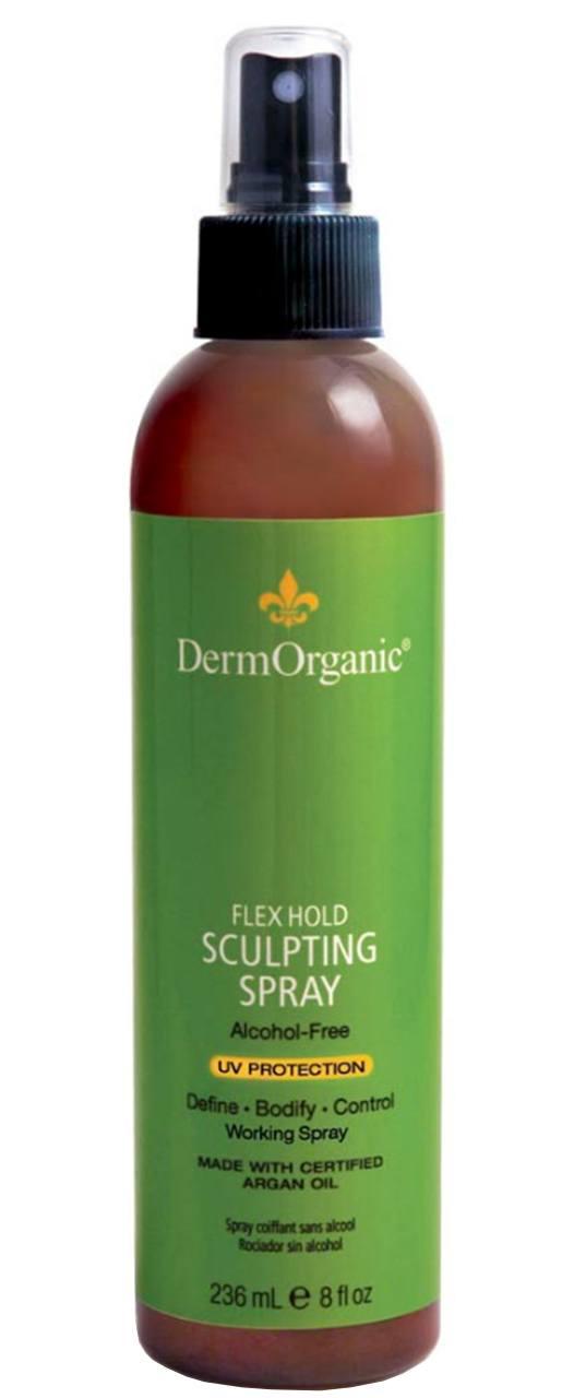 Dermorganic Flex Hold Sculpting Spray with Argan Oil