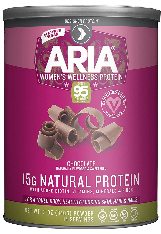 Designer Protein Aria, Women's Wellness Plant-Based Protein