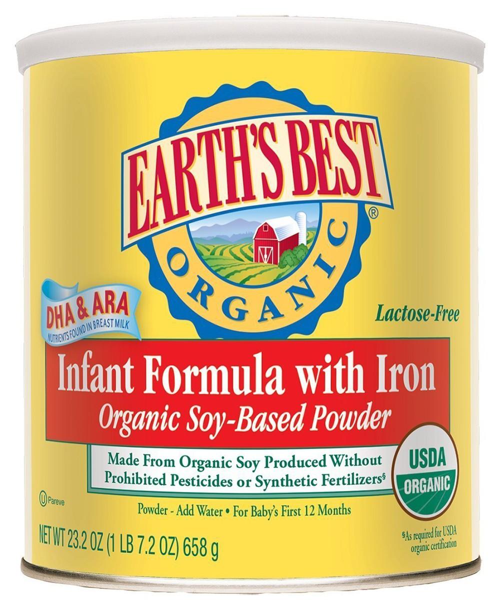 Earth best organic formula