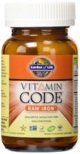 Garden of Life Vitamin Code Iron