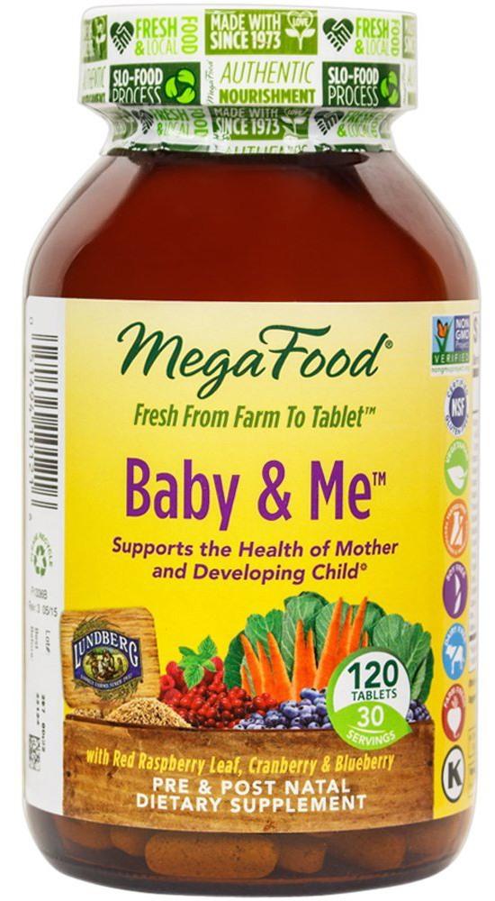 MegaFood - Baby & Me, Prenatal & Postnatal Support for Mother & Baby