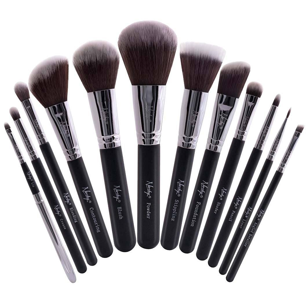 Buy makeup brush & brushes sets, affordable and cruelty free. Drugstore prices, eye, face, lip foundation brush and more. e.l.f Cosmetics, best makeup brush in US.