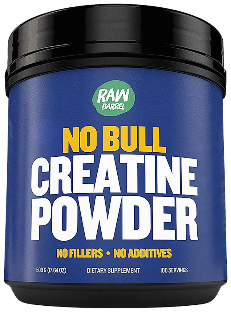 Raw Barrel's - Pure Creatine Monohydrate Powder