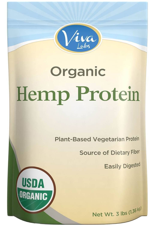Viva Labs - Organic Hemp Protein Powder
