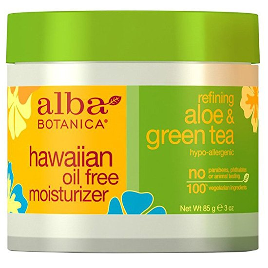 Alba Botanica Hawaiian, Aloe & Green Tea Oil-Free Moisturizer