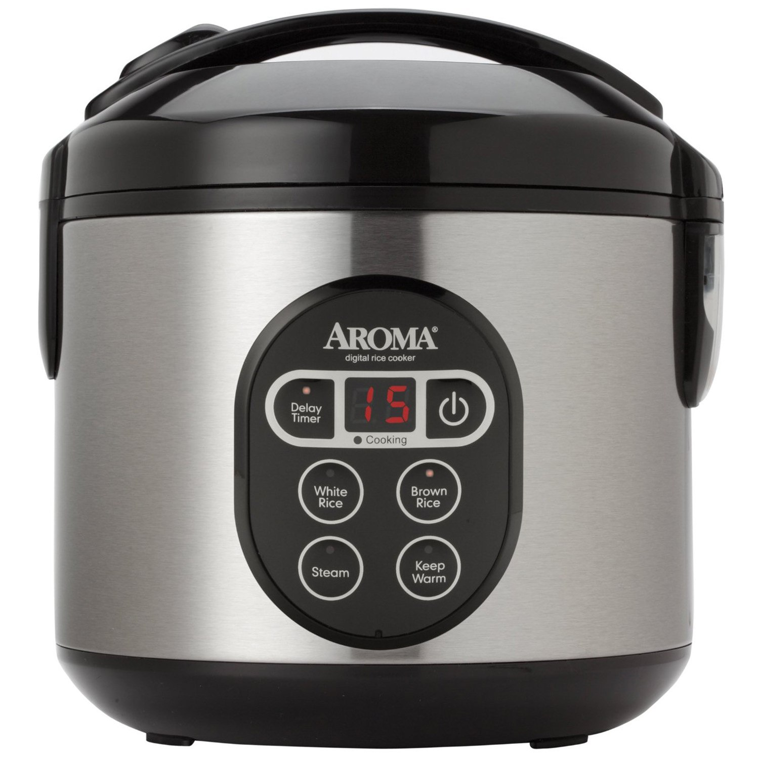 Aroma Housewares ARC-914SBD 8-Cup (Cooked) Digital Cool-Touch Rice Cooker
