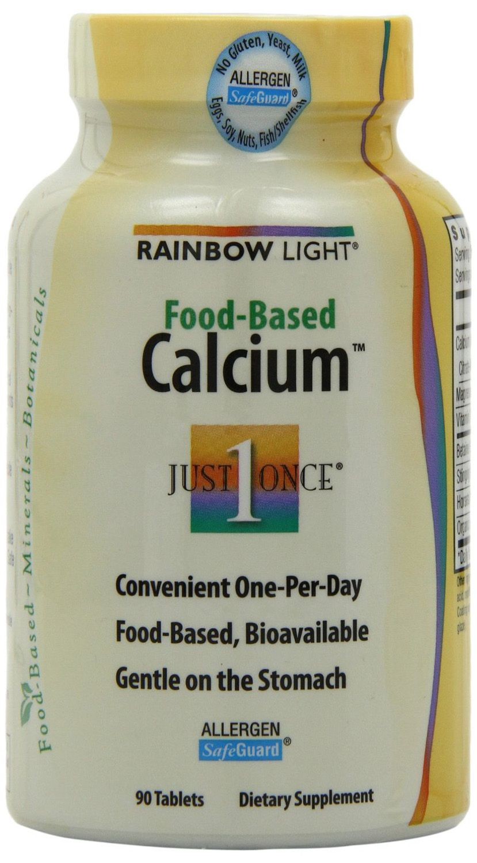 Rainbow Light, Food-Based Calcium