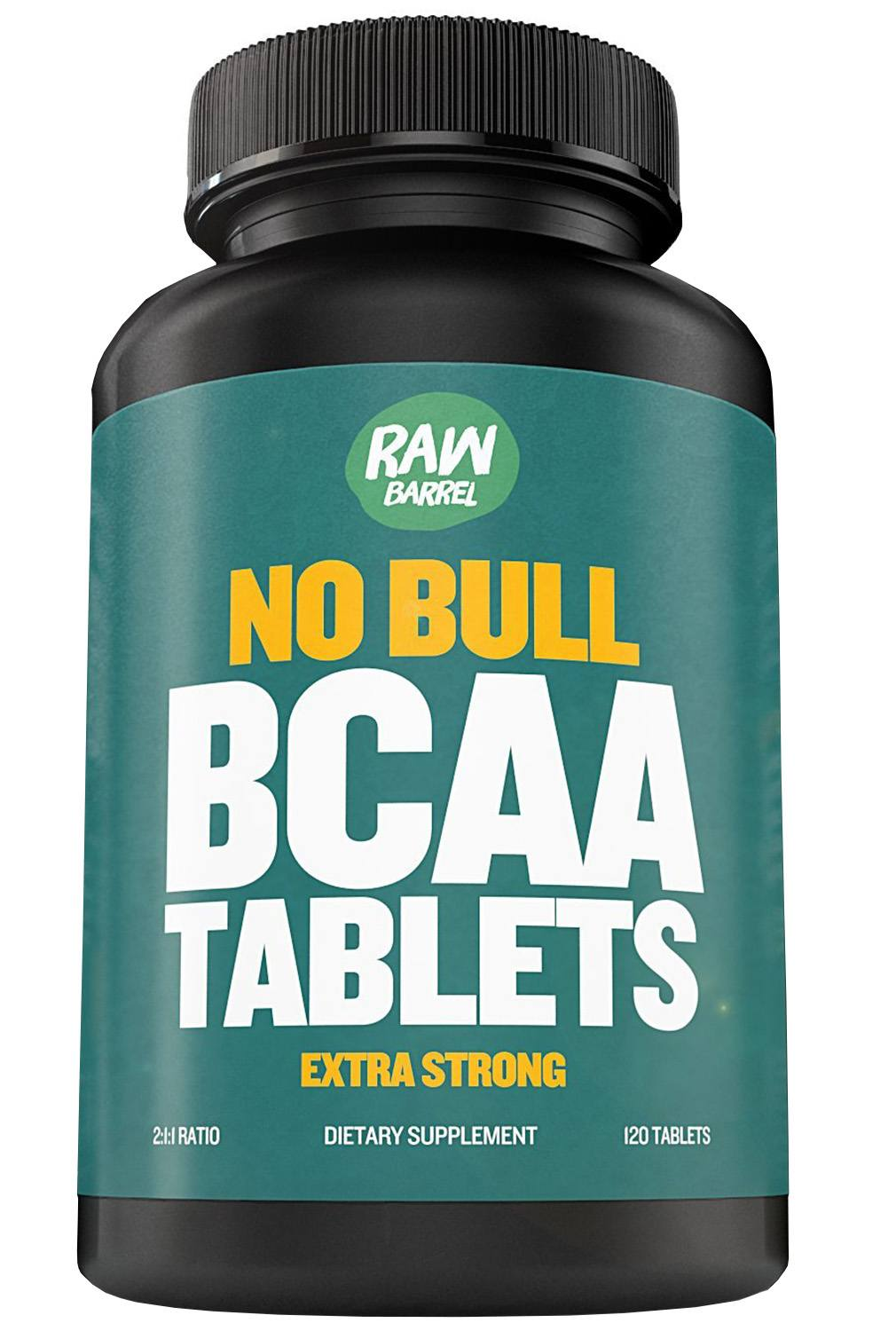Raw Barrel's - Pure BCAA Tablets