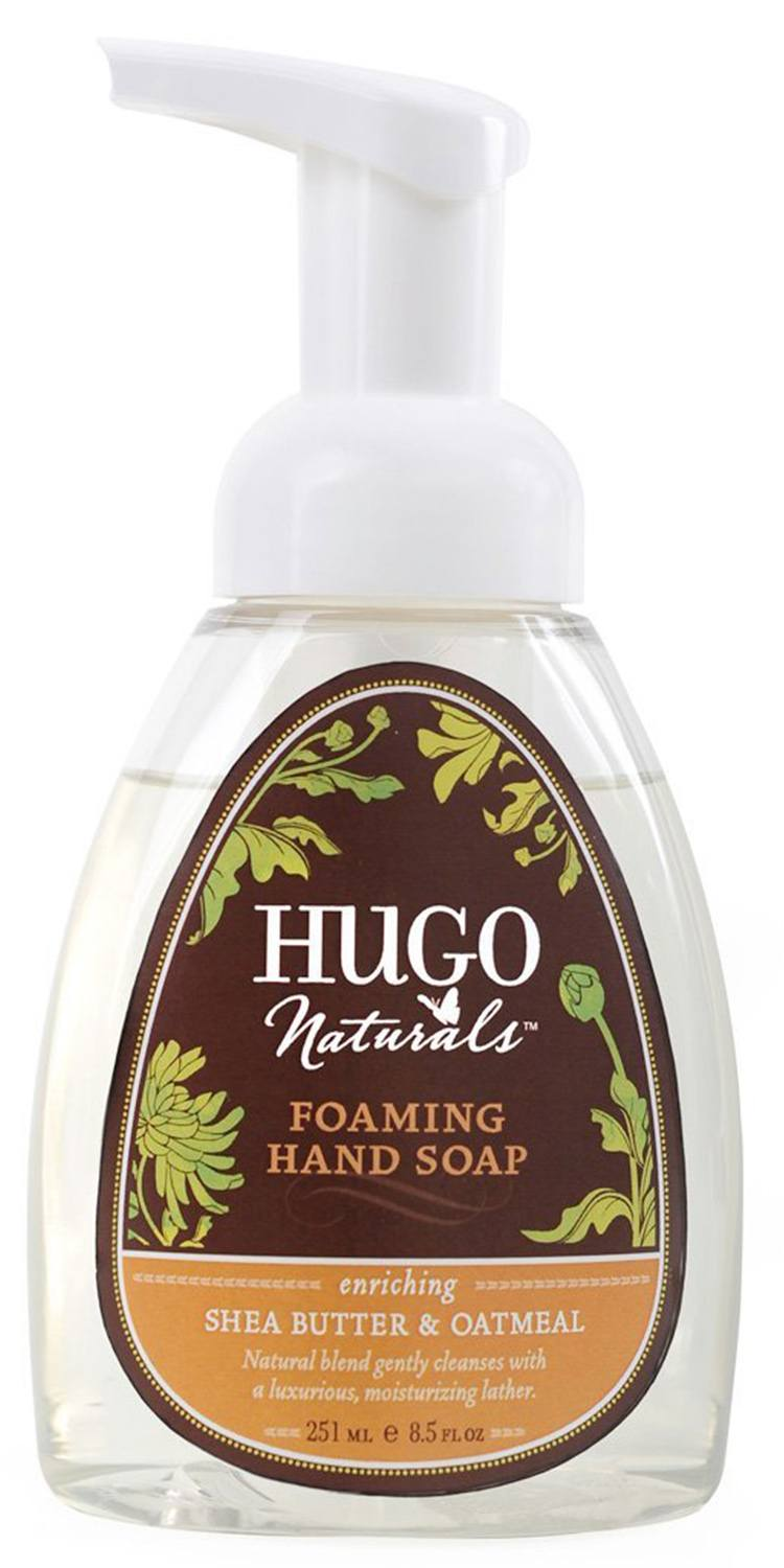Hugo Naturals Foaming Hand Soap, Shea Butter and Oatmeal