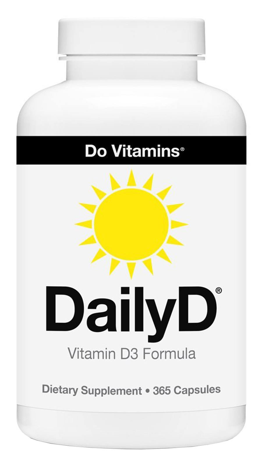 DailyD Vegan Vitamin D3 Formula with Vitashine