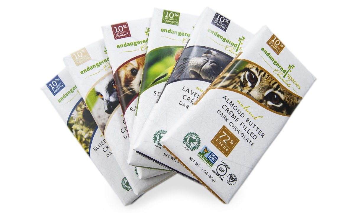 Endangered Species Organic Chocolate Bars