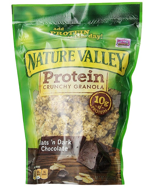 Nature Valley Granola, Protein, Oats N' Dark Chocolate