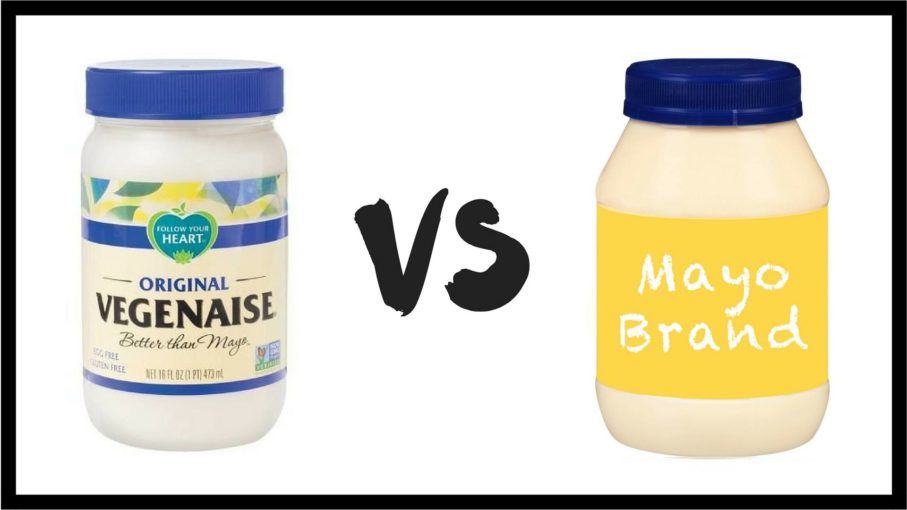 Vegenaise vs Mayonaisse
