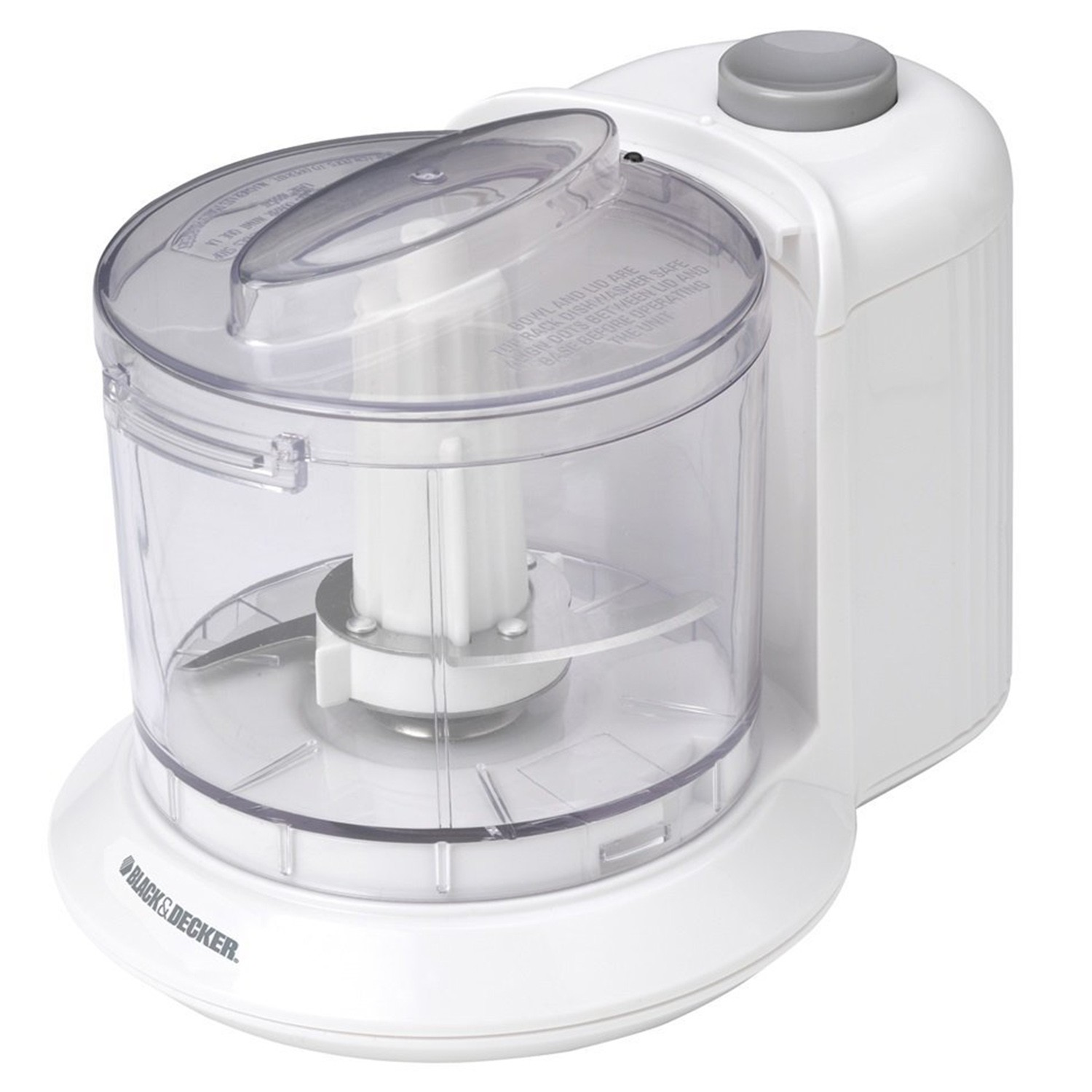 BLACK and DECKER One -Touch Electric Veggie Chopper