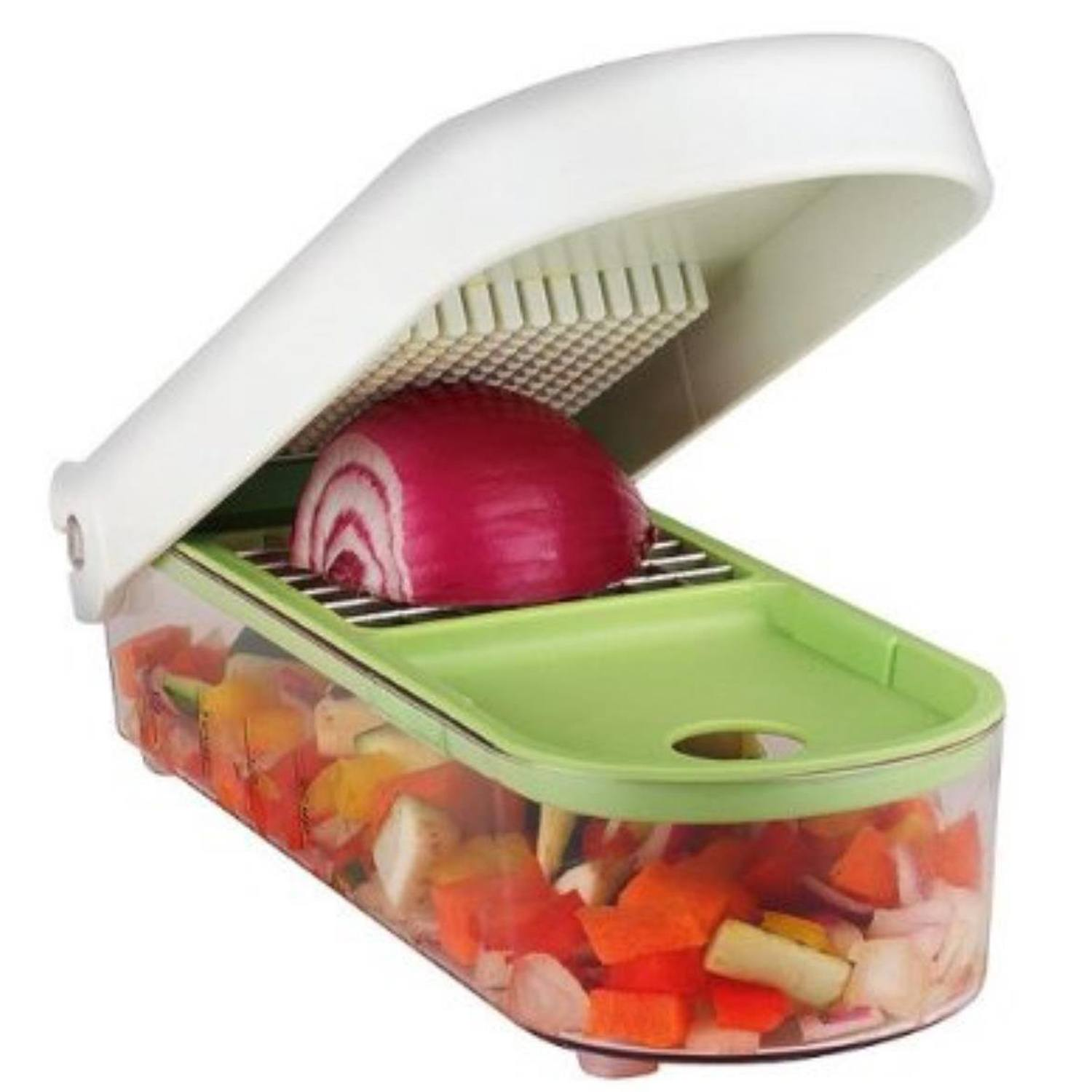 Vidalia Chop Wizard Manual Chopper for Vegetables