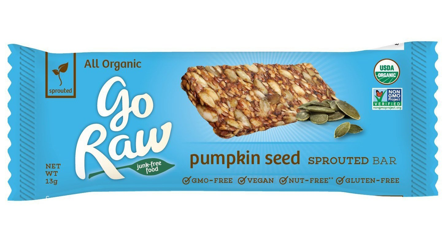 Go Raw Organic Sprouted Granola Bars