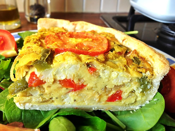 Gourmet Vegan Cant Tell the Difference Quiche