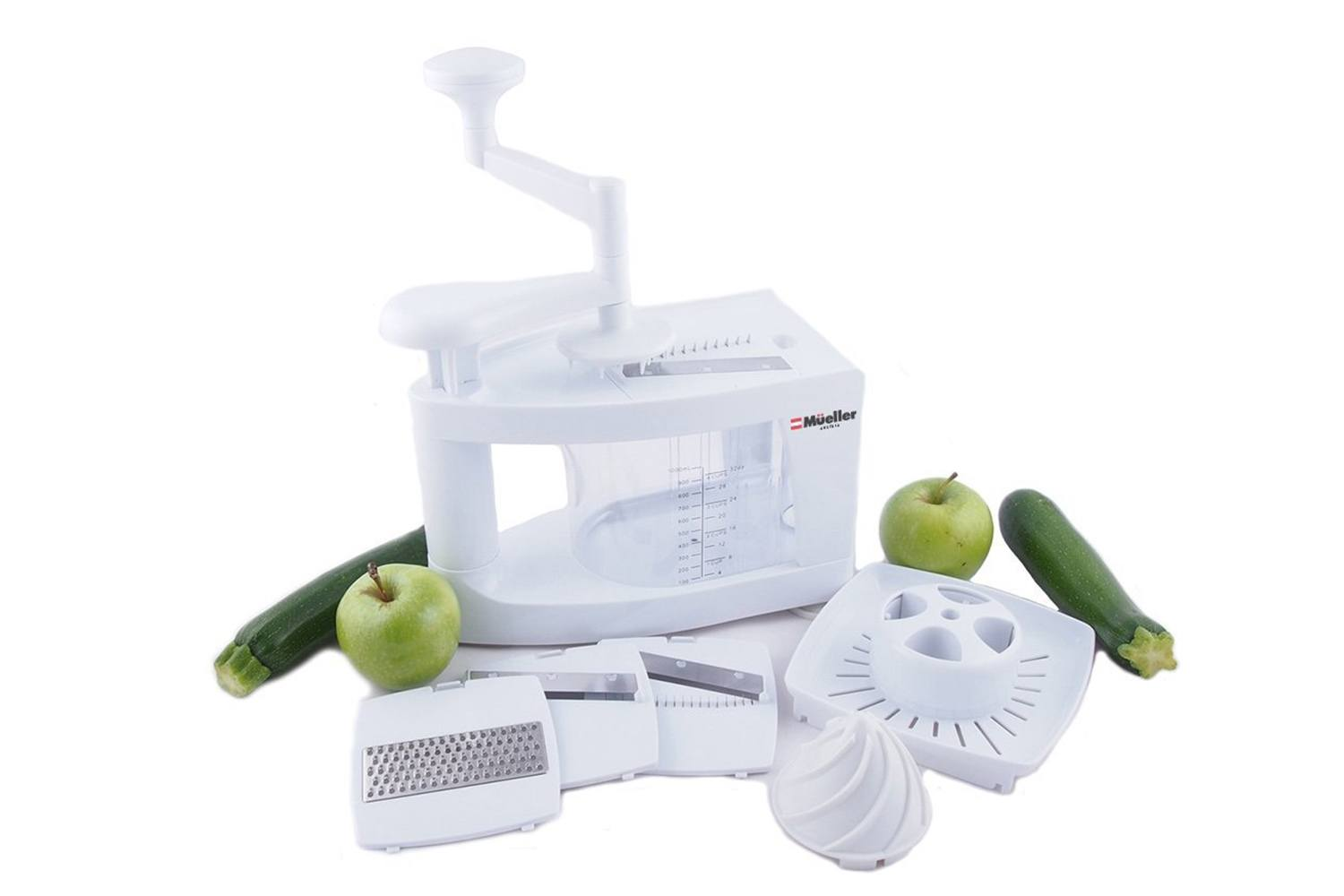 Mueller Spiral-Ultra 4-Blade Vegetable Spiralizer
