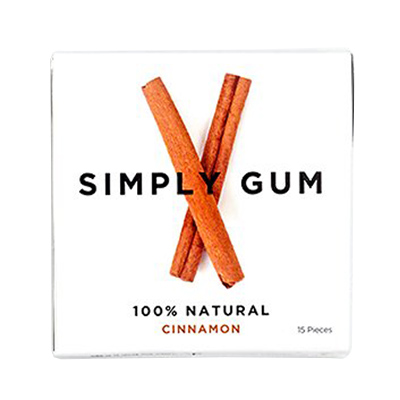 Simply Gum Assorted Natural Vegan Chewing Gum