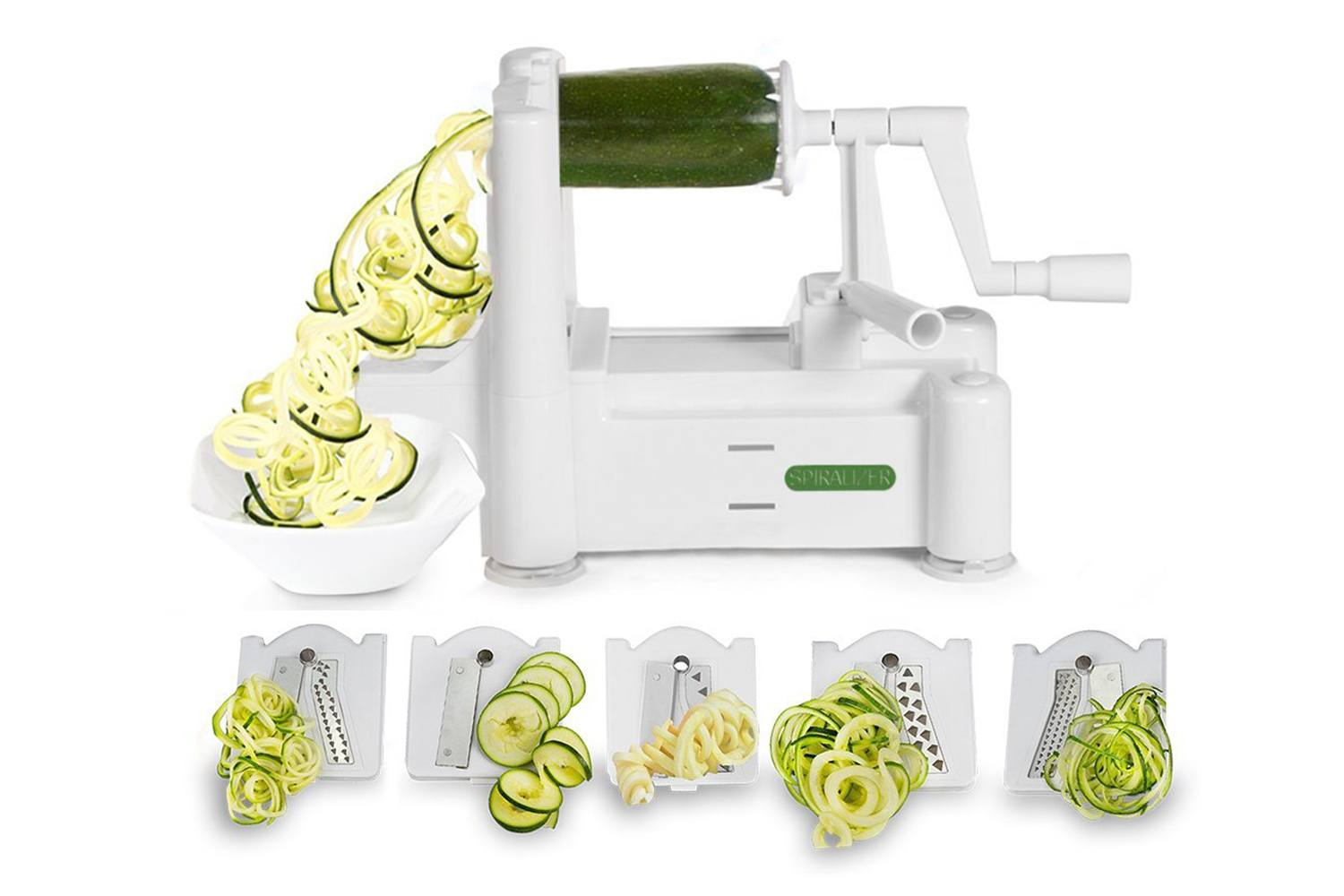 Spiralizer 5-Blade Vegetable Sprial Slicer