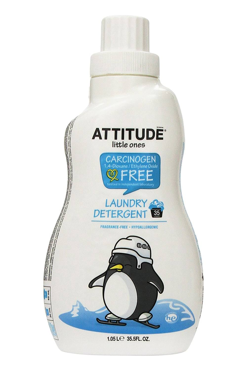 Attitude Little Ones Fragrance Free Laundry Detergent