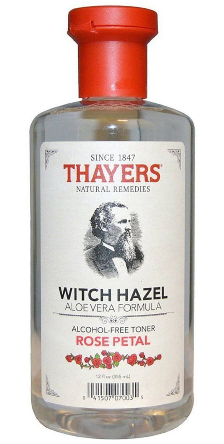 Thayers Witch Hazel Aloe Vera Formula Rose Petal -- 12 fl ...
