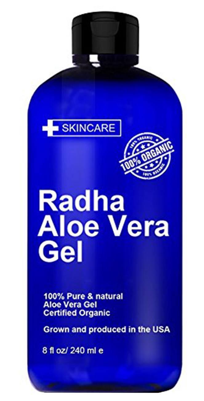 radha Organic Aloe Vera Gel for Face and Skin