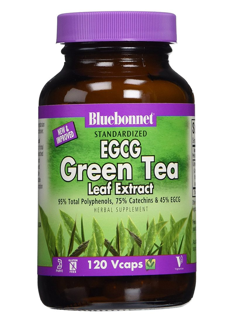 BlueBonnet EGCG Green Tea Leaf Extract Supplement