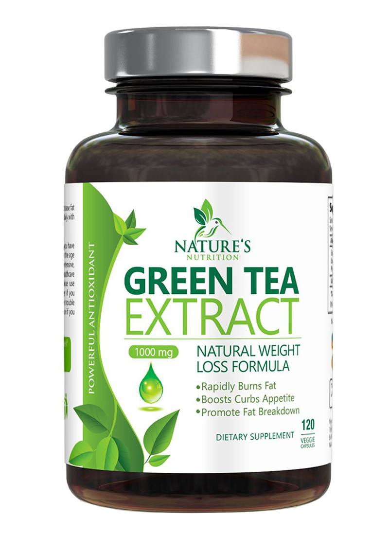 Nature's Nutrition Green Tea Extract pills