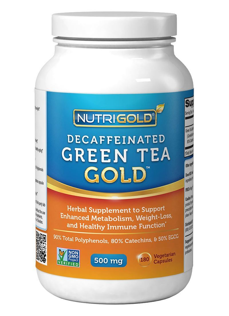 Nutrigold Decaffeinated Green Tea extract Capsules