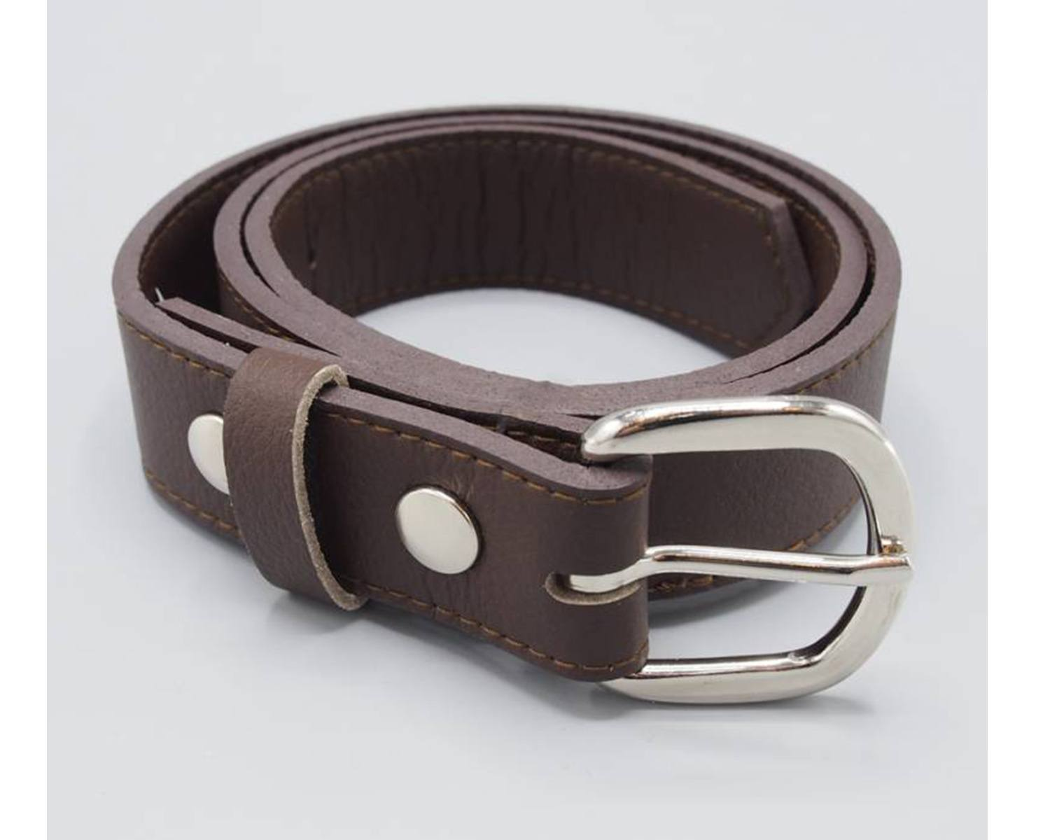 Brown Coltrane Belt by Herbivore Clothing