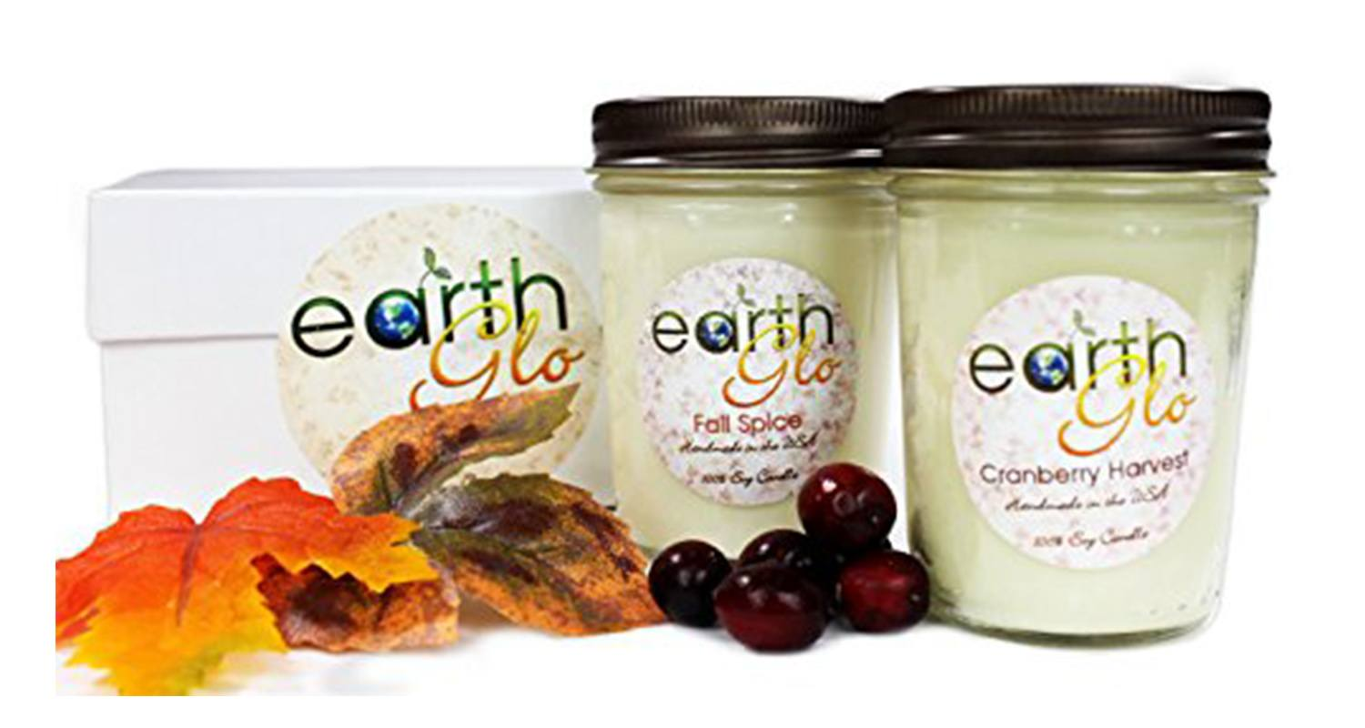 EarthGlo Winter Candles
